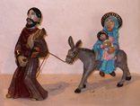 Cast Bronze Nativity
