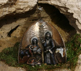 Romanesque-Gothic Bronze Nativity