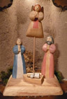 Simple Wood Nativity